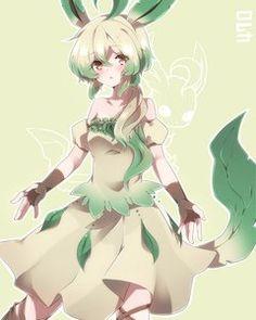 Leafeon gijinka (Pokemon)