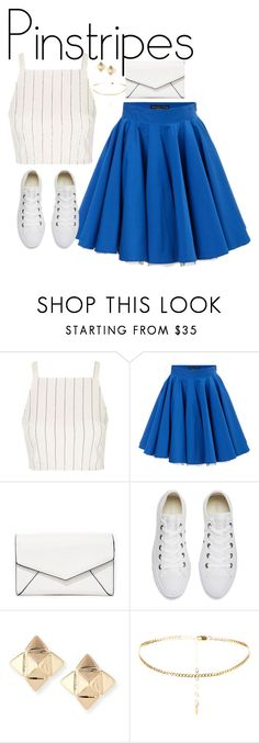 """""""Untitled #109"""" by kapreece on Polyvore featuring Topshop, Philipp Plein, LULUS, Converse and Valentino"""