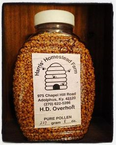 Have you started taking local bee pollen yet in preparation for spring ? It's yummy in a smoothie, on top of your cereal, mixed in oatmeal, or you can just pop a handful in your mouth and let it melt – which is my favorite:)) #beepollen #spring !! #divinelifeathome