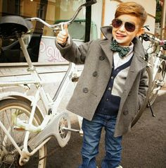 Kid with style..