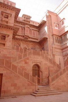 LOCATION: RAJASTHAN, INDIA / Inside Junagarh Fort