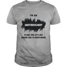 Anesthesiologist T Shirts, Hoodies Sweatshirts. Check price ==► https://www.sunfrog.com/Jobs/Anesthesiologist-93004556-Sports-Grey-Guys.html?57074