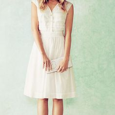 The Little White Dress: Soft + Floaty