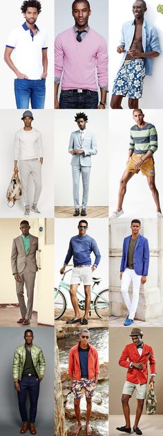 Colours That Match or Complement Dark/Black Skin Men - Outfit Inspiration Lookbook - The colour of your skin is perfectly positioned to marry well with the vast majority of hues and shades, as it doesn't run the risk of being washed out like comparatively pale skin tones. Brown is pretty much a no-go. While black and navy are two key colours in any man's wardrobe, it's worth keeping these to a minimum. #bodytype