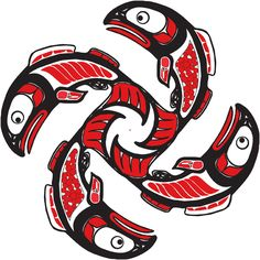 Northwest coast native indian art books about drawing, painting, carving and designs in the Pacific First Nations style Arte Tribal, Tribal Art, American Indian Art, Native American Art, Native Indian, Native Art, First Nations, Tatouage Haida, Sketch Manga
