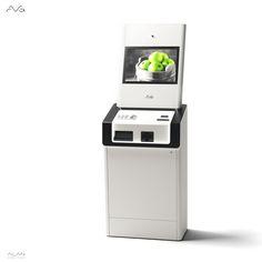 Fully functional ATM. Design by Alan Kravchenko