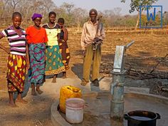 These people no longer have to walk miles just to get dirty water. #cleanwaterforall