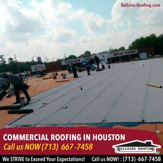 We strive to develop innovative, cost effective custom solutions for the most complex commercial roofing challenges.  Contact us today for FREE estimate (713) -667-7458
