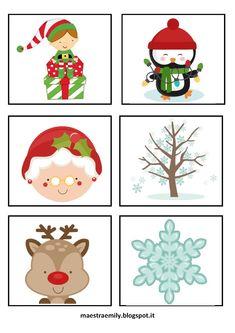 Giochi natalizi per bambini la tombola e il memory di natale 1 feste pinterest christmas for Tombola di natale da stampare