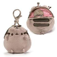Pusheen the Cat Pusheen Grey 3-inch Coin Purse - Sale! Up to 75% OFF! Shot at Stylizio for women's and men's designer handbags, luxury sunglasses, watches, jewelry, purses, wallets, clothes, underwear
