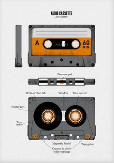 Audio Cassette Anatomy