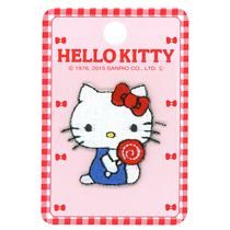 stick-on Hello Kitty lollipop patch for clothes 1 piece