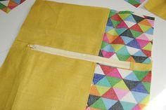 Tuto de la double trousse. - Little Clary Le Double, Creation Couture, Couture Sewing, Crochet, Creative, How To Make, Accessories, Authentique, Arts