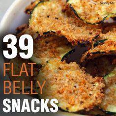 39 Flat Belly Snacks