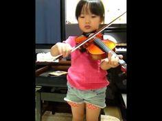 ヴァイオリン練習30/メヌエット第3番/suzukimethod.vol1 [Suzuki Violin School Volume 1, Minuet 3, Petzold] See more of this young violinist #from_donguriKorokoro