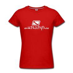 Womens T-Shirts ~ Womens Slim Fit T-Shirt by American Apparel ~ Womens STFU w/ Deadlift Bear logo How To Make Tshirts, Personalized Shirts, Lip Service, Geek Chic, Tshirts Online, Custom Clothes, American Apparel, Outfit, T Shirts For Women
