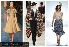 Spring 2013 Trends Spotted on the Runways