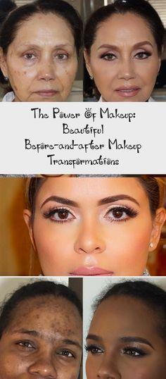 The Power Of Makeup: Beautiful Before-and-after Makeup Transformations - Makeup . Celebrity Wedding Makeup, Romantic Wedding Makeup, Makeup Blog, Makeup Pics, Wedding Makeup Tutorial, Nose Contouring, Power Of Makeup, Cream Contour, Brow Pomade