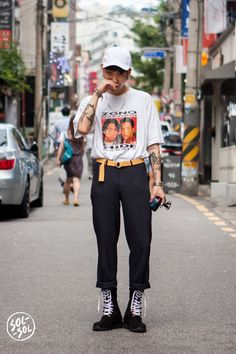Seoul street style fashion                                                                                                                                                                                 More