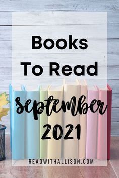 100 Books To Read, New Books, Good Books, Great Gifts For Men, September, Romance, Author, Thrillers, Reading