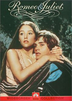 """Romeo & Juliet --Leonard Whiting and Olivia Hussey. """"But soft! What light through yonder window breaks? It is the east, and Juliet is the sun. Arise, fair sun, and kill the envious moon, who is already sick and pale with grief..."""""""