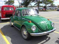 1973 Super Beetle - my 1st car <3