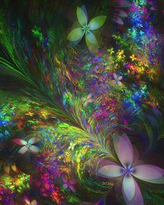 Butterfly Garden by *myberg2