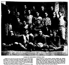"""An article about the Baker City High School football team, published in the Oregonian (Portland, Oregon), 2 December 1901, page 3. Read more on the GenealogyBank blog: """"12 Types of Newspaper Articles for Genealogy Research, Part II"""" https://blog.genealogybank.com/for-the-12-days-of-christmas-12-types-of-newspaper-articles-for-genealogy-research-part-ii.html"""