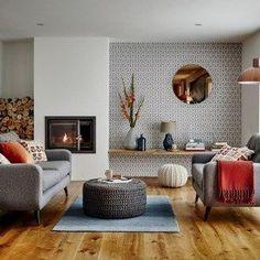 Simple and elegant scandinavian living room decoration ideas (15)