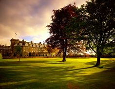 Gleneagles Hotel in Perthshire, Scotland ... one of the best hotels in the world!