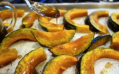 Maple-Chinese 5-Spice glazed kabocha from my blog Pen & Fork.
