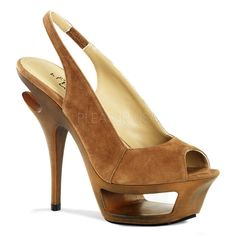 DELUXE-653 Sexy Pleaser Shoes High Heels