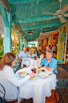 Open-air dining in Naples, Florida is a must do for visitors and locals alike. Photo by Debi Pittman Wilkey