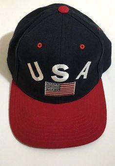 74b095d5f70 Pro Player USA Baseball Cap Hat Flag One Size Fits All  ProPlayer   BaseballCap Caps