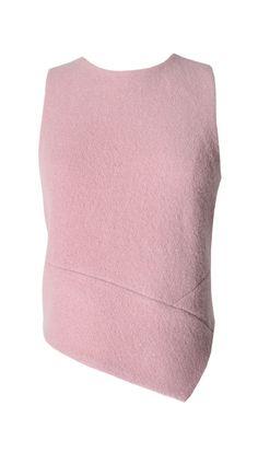 Tibi - Plush Wool Asymmetrical Top