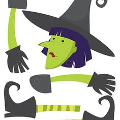 Halloween Decoration: Witch Craft (Printable Halloween Activity for Kids)