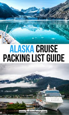 The perfect Alaska Cruise packing list for any time of year| Alaska Cruise packing list| what to bring on an Alaska cruise for every season| a guide on what to bring to Alaska| Packing list #alaska #alaskacruise #alaskapacking #cruise #cruisetips #travel #traveltips