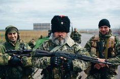 Cossacks in Ukraine.