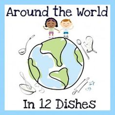 Juggling With Kids: Around the World in 12 Dishes: Australia. Cooking round the globe. Around The World Theme, Around The World In 80 Days, We Are The World, Around The Worlds, Around The World Crafts For Kids, Multicultural Activities, Diversity Activities, Multicultural Classroom, Class Activities