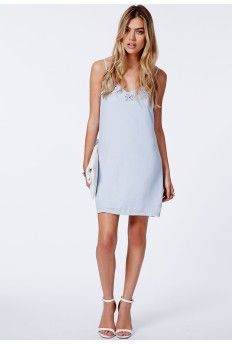 Delunara Diamond Embellished Chiffon Cami Dress  #MISSGUIDEDAW14