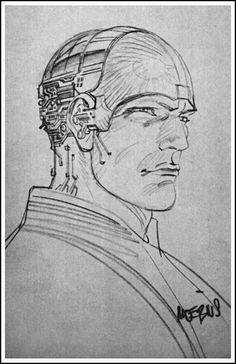Even Moebius got into the Tron previs act. #illustration #tron #moebius