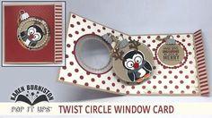 Pop it Ups Twist Circle Window Card