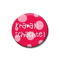 Buttons & Anstecker - Button Krawallschachtel - ein Designerstück von Polarkind bei DaWanda
