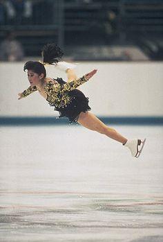 Kristi Yamaguchi olympics - Great fly!