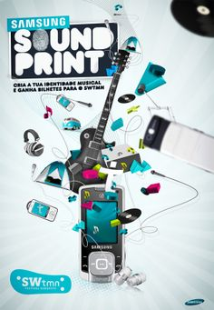 Samsung Soundprint II by Diogo Parrinha, via Behance