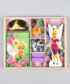 Take a look at this Tinker Bell Wooden Doll Set by Disney on #zulily today!