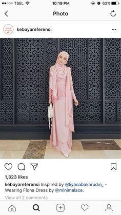 Ideas For Dress Bridesmaid Hijab Syari Dress Brukat, Hijab Dress, Muslim Fashion, Hijab Fashion, Fashion Dresses, Kebaya Muslim, Muslim Dress, Maxi Dress Wedding, Bridesmaid Dresses