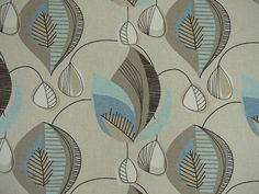 Clarke and Clarke Studio G Coco in Summer Curtain Upholstery Craft Fabric