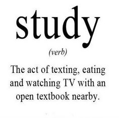 Study The Act Of Texting Eating And Watching TV With Funny Kids Health Care Insurance Quotes And Sayings