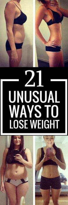 21 unusual but effective weight loss tips.